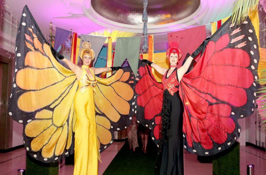 Meet and Greet Butterflies at Claridges