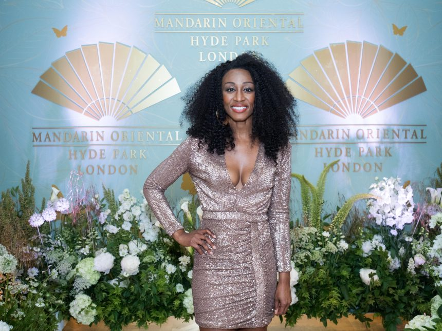 Beverley Knight performing at Mandarin Oriental