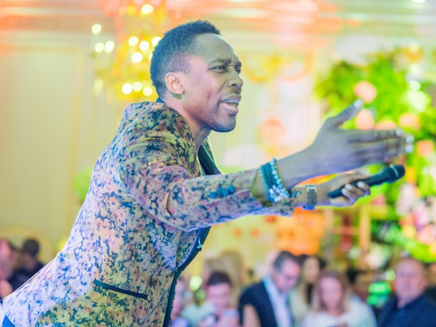 Named artist, Lemar, performing at the Mandarin Oriental London Hyde Park, for their relaunch party