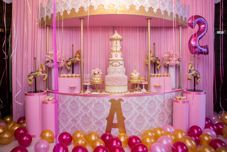 Carousel Dessert Table