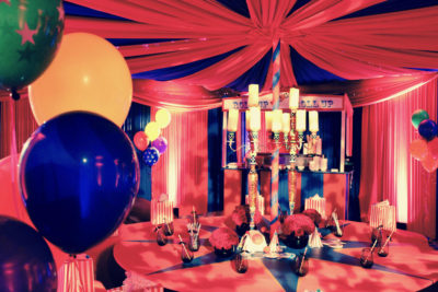 Circus Themed Dinner Party