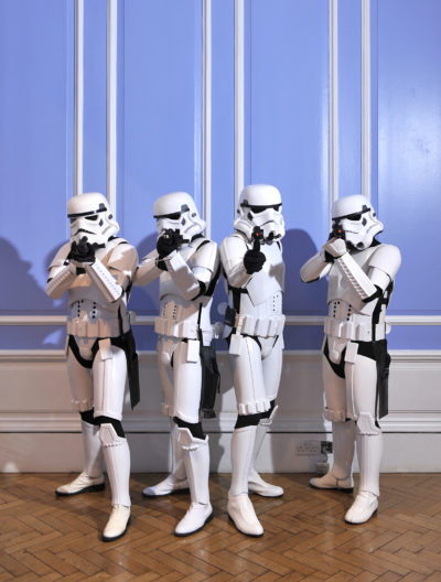 Storm Troopers at The London Film Museum