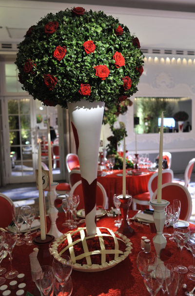 Alice in Wonderland Dinner Party at The Dorchester