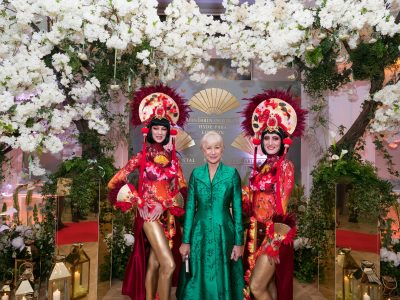 Dame Helen Mirren attending a photo call at The Mandarin Oriental Hyde Park relaunch event.