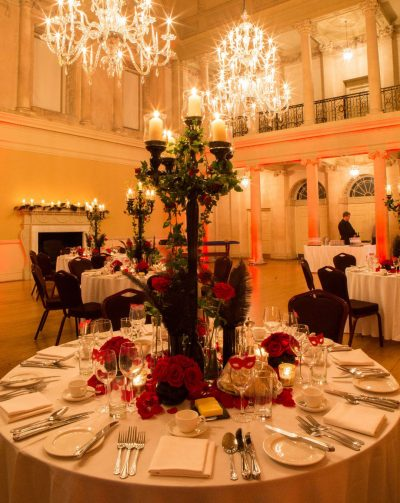 Corporate Summer Party at The Bath Assembly Rooms, Somerset