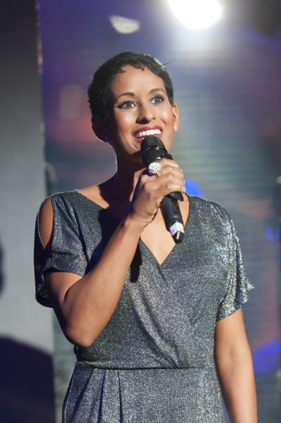 Naga Munchetty at Grosvenor House Hotel